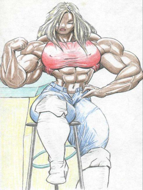 Female Bodybuilder Melissa Coates WPW